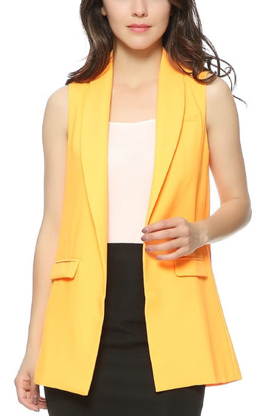 Trendy-Road-Style-Shop-Online-Woman-Fashion-Street-vest-pocket-sleeveless-turn-down-collar-orange