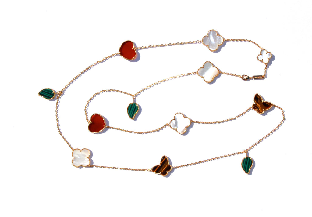 Well-known Magic lucky clover long necklace – LLuuKK AF68
