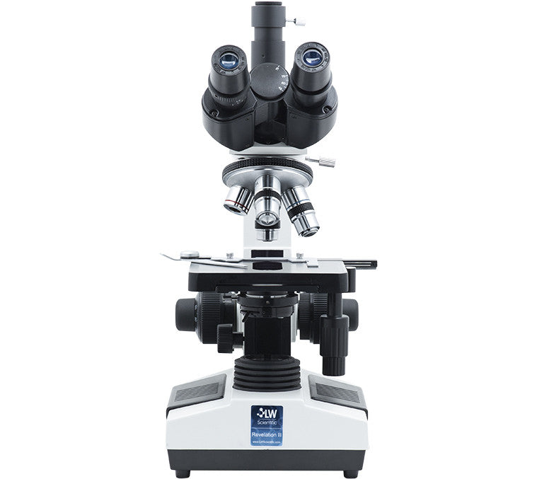 Revelation lll DIN, 4 Objective Microscope