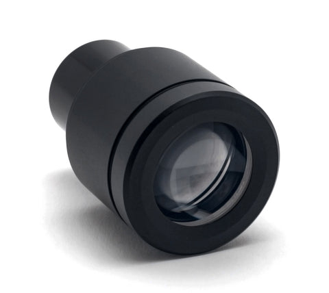 Mi5 10x/20 Eyepiece with reticle installed, 23mm tube, cylindrical shape