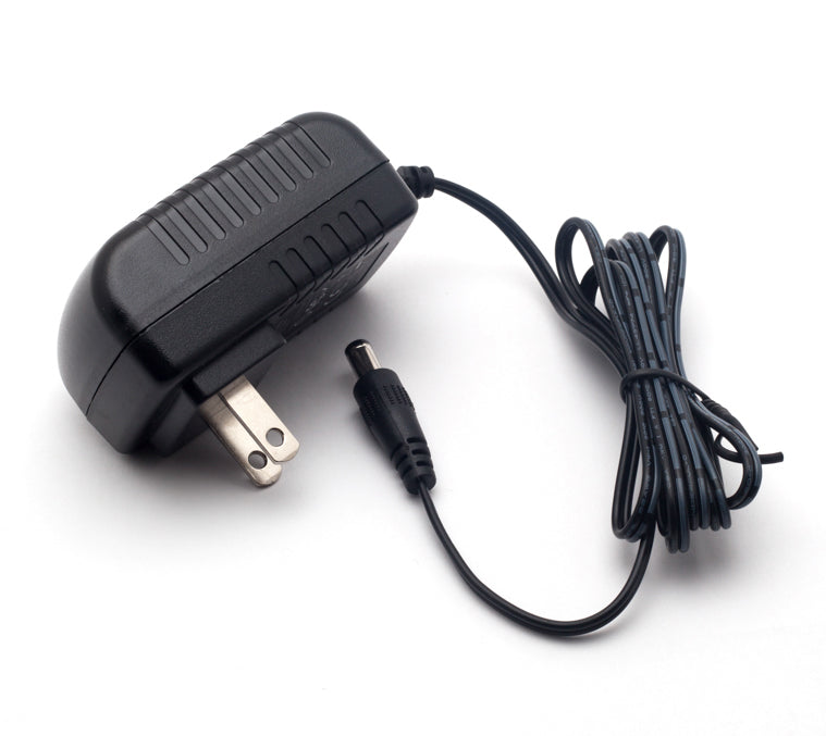 AC Adapter Cord for 12 Volt DC models
