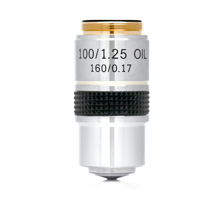 100XR DIN Achromat Oil Objective