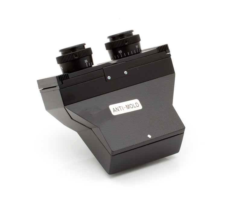 Binocular sliding head (no eyepieces)