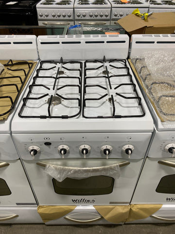 "WILLIE'S NEW 20"" NATURAL GAS STOVE $429. #40316"