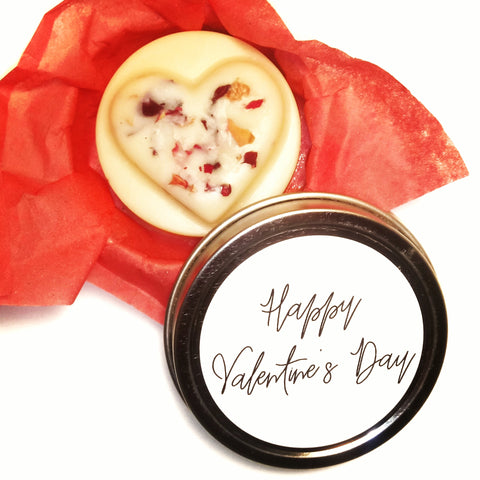 Happy Valentines Day Body Lotion Bar