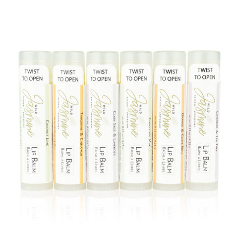 Set of 6 Lip Balm - Abbey Lane Farm