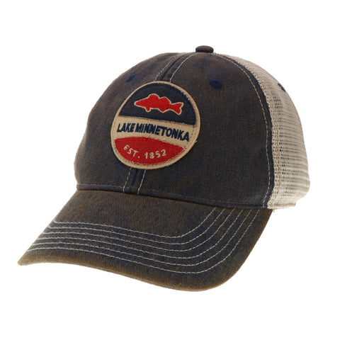 Lake Minnetonka Fish Trucker Hat