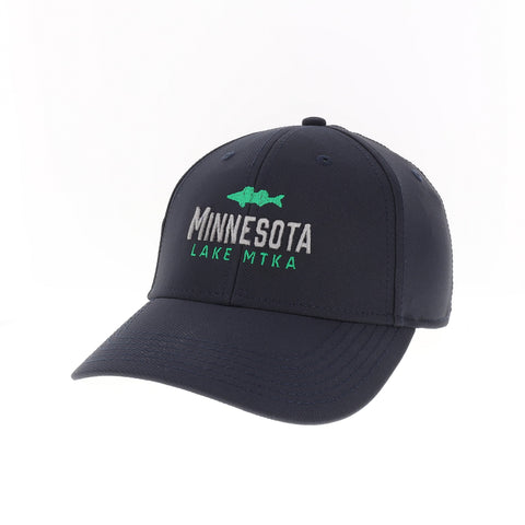 Lake Minnetonka Fish Tech Hat