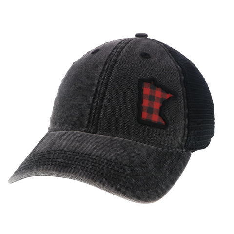 Plaid MN State Hat
