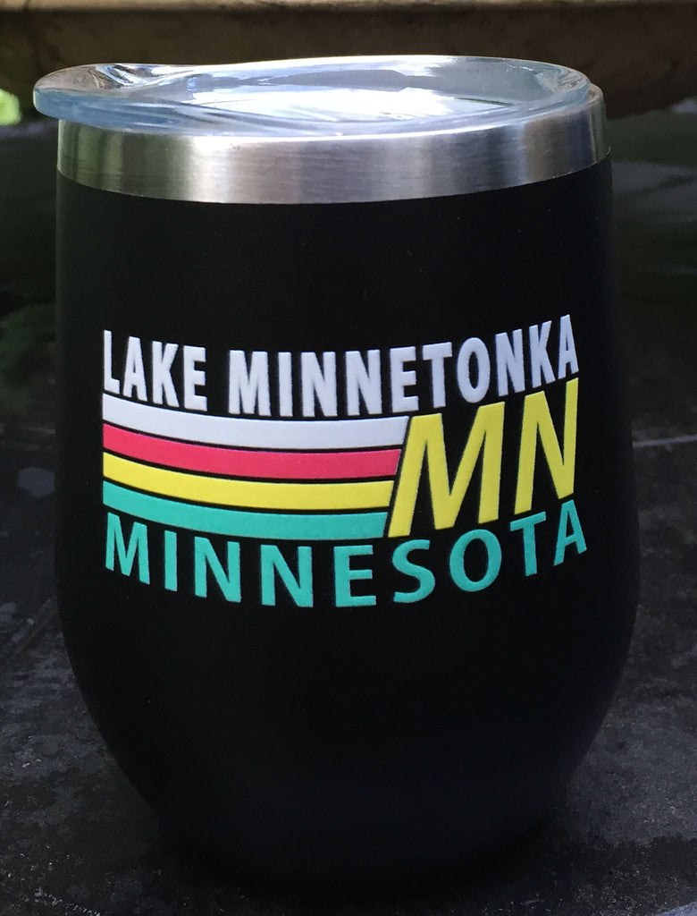 Lake Minnetonka Retro Glassware