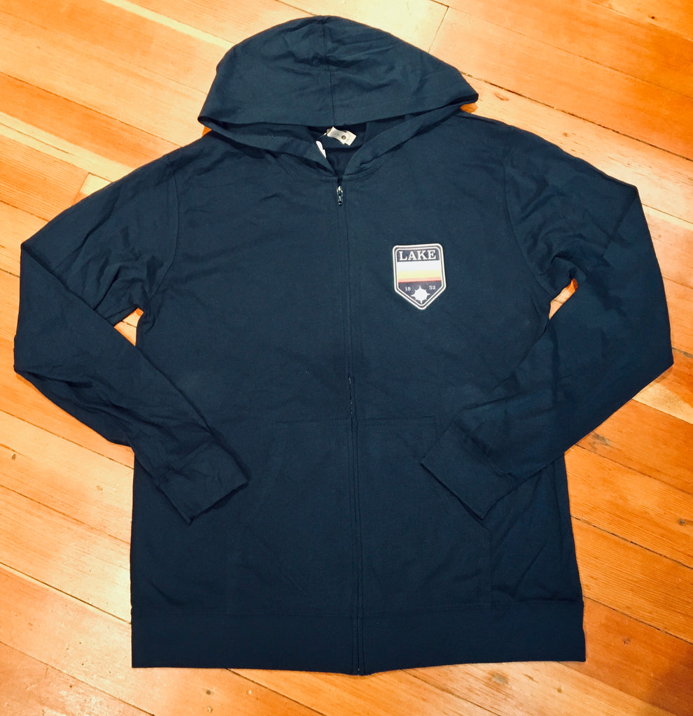 Sueded Zip Up Hoodie