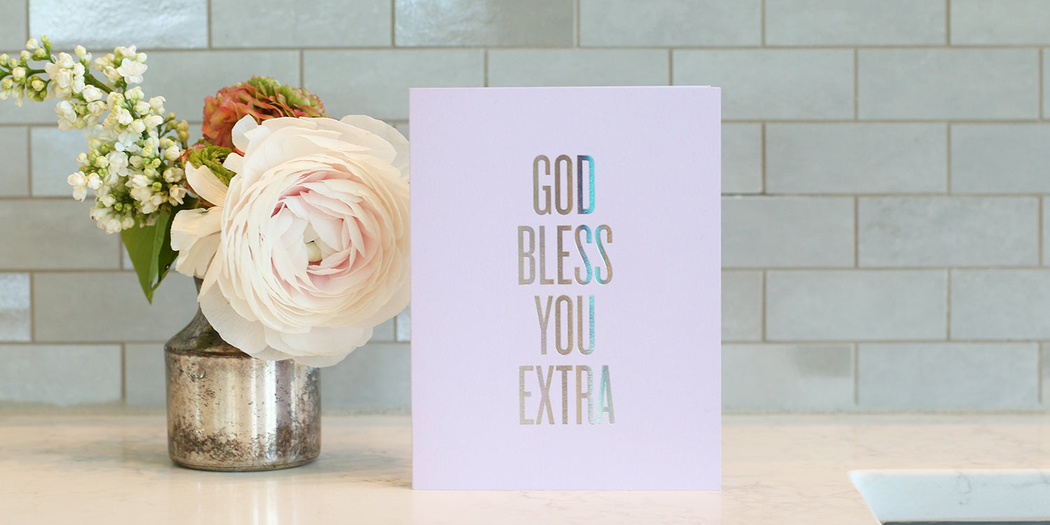 Bless You Extra Card by RBTL®