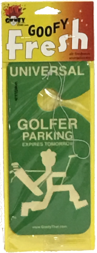 Golfer Car Air Freshener
