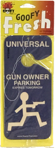 Gun Owner Car Air Freshener
