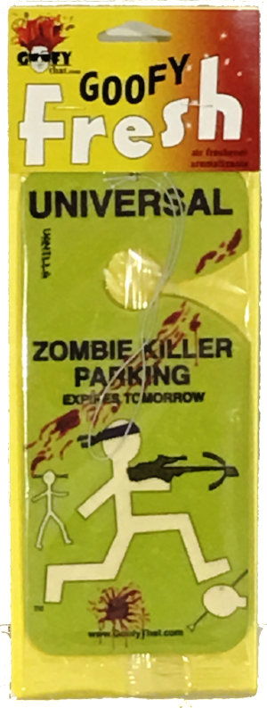 Zombie Killer Car Air Freshener
