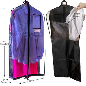 Reusable Garment Bag with Charity Logo-Tunnel to Towers