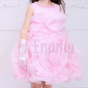 Elegant Rose Baby Girl / Toddler dress - Enumu
