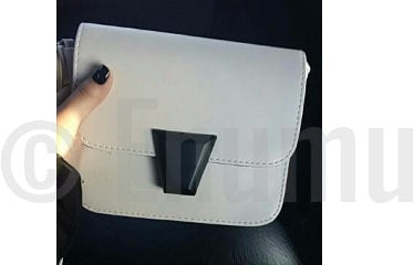 White Cross Body Bag - Enumu