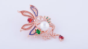 RGP Ballerina Brooch or Saree Pin - Enumu