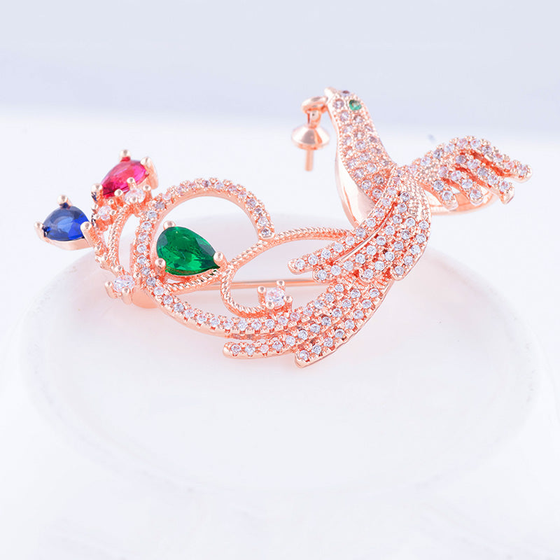 RGP Bird Brooch or Saree Pin