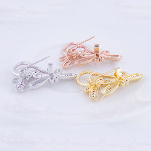 YGP Pink Two Butterflies Brooch - Enumu