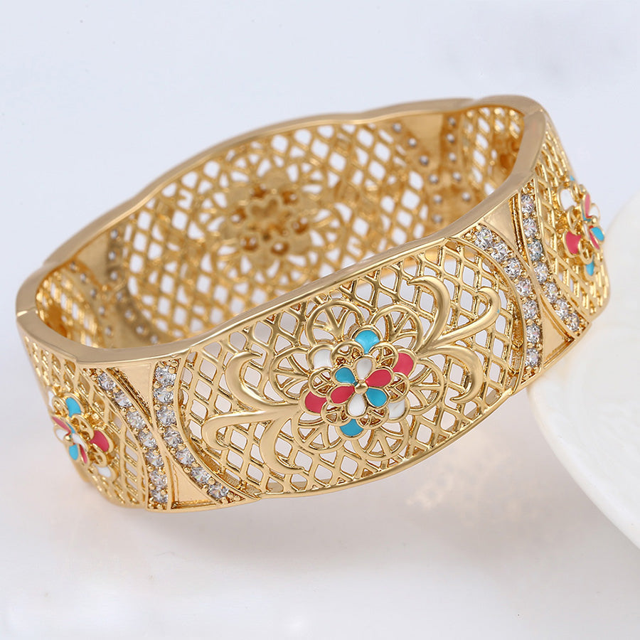 Super Big Enamel Bangle ( ONLY ONE BANGLE)