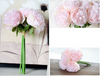 5 PCS Bunch Pink Peonies Artificial Flowers