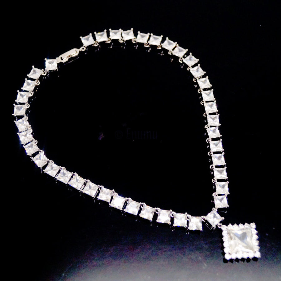 Swiss Zircon Necklace - Enumu