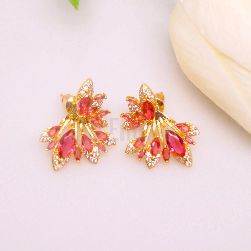 YGP Small Ruby Studs