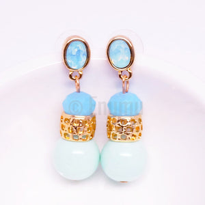 Blue Dangle Earrings - Enumu