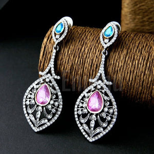 Long Dangle Earrings - Enumu