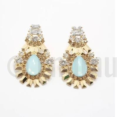 Light Blue Dangle Earings - Enumu  - 1