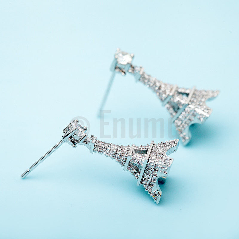 Paris Eiffel Tower Stud/ Dangle Earrings - Enumu