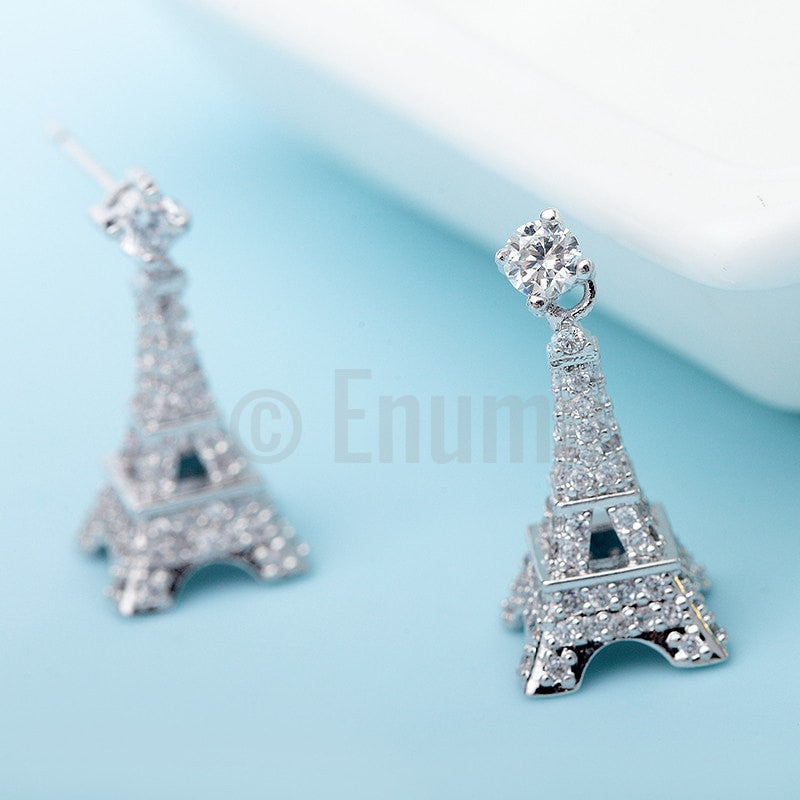 Paris Stud/ Dangle Earrings - Enumu  - 1