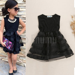 Black Casual Dress - Enumu