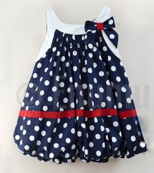 Polka Dot Baby Dress - Enumu
