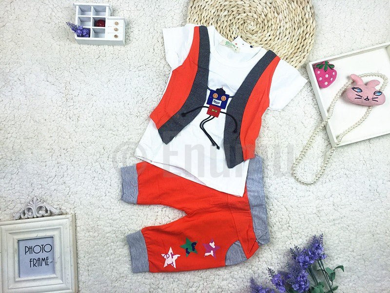 T-shirt and Pant Toddler Boys set - Enumu