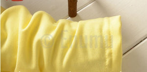 Yellow Lace Dress - Enumu
