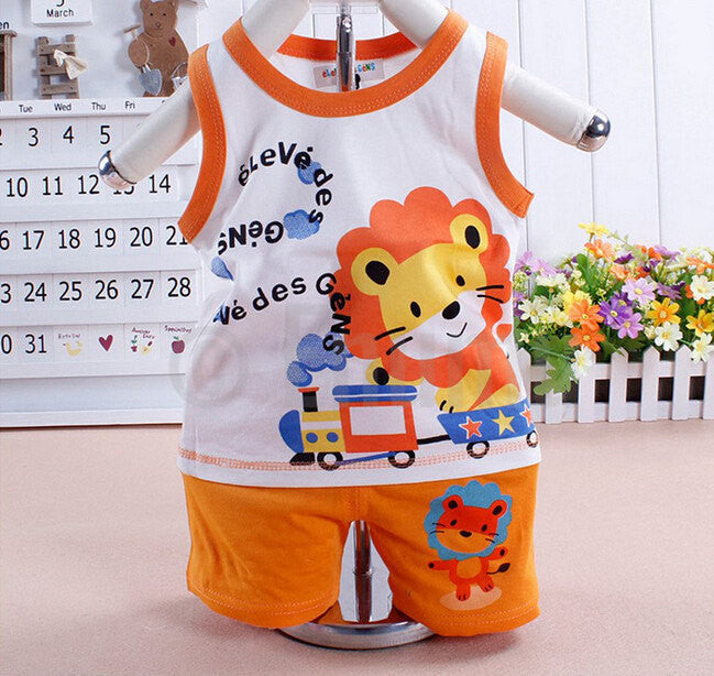 T-shirt and Pant Lion Boys set - Enumu