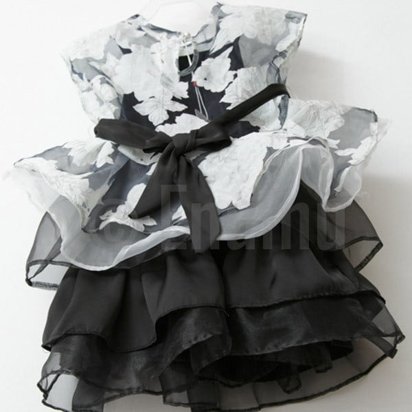 B & W Top and Dress (2 PC) - Enumu