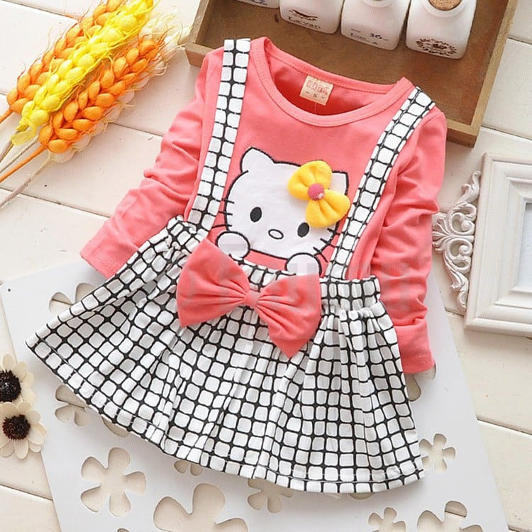 Hello Kitty Baby Girl Top and Skirt Set - Enumu