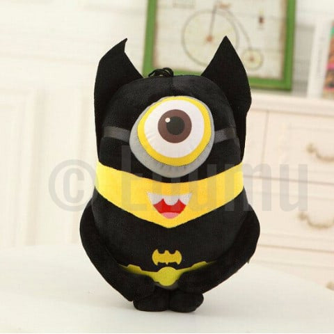 Despicable Me Bat Man Minion  - 23 cms or 9 inches - Enumu