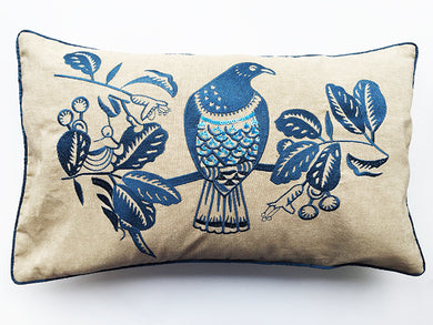 Woodpigeon  Cushion Navy 30X50 / COVER ONLY