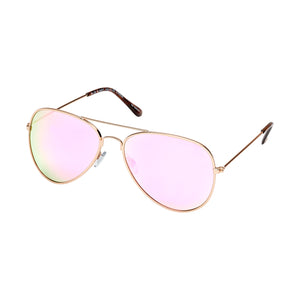Wright Matte Gold / Rose Lens