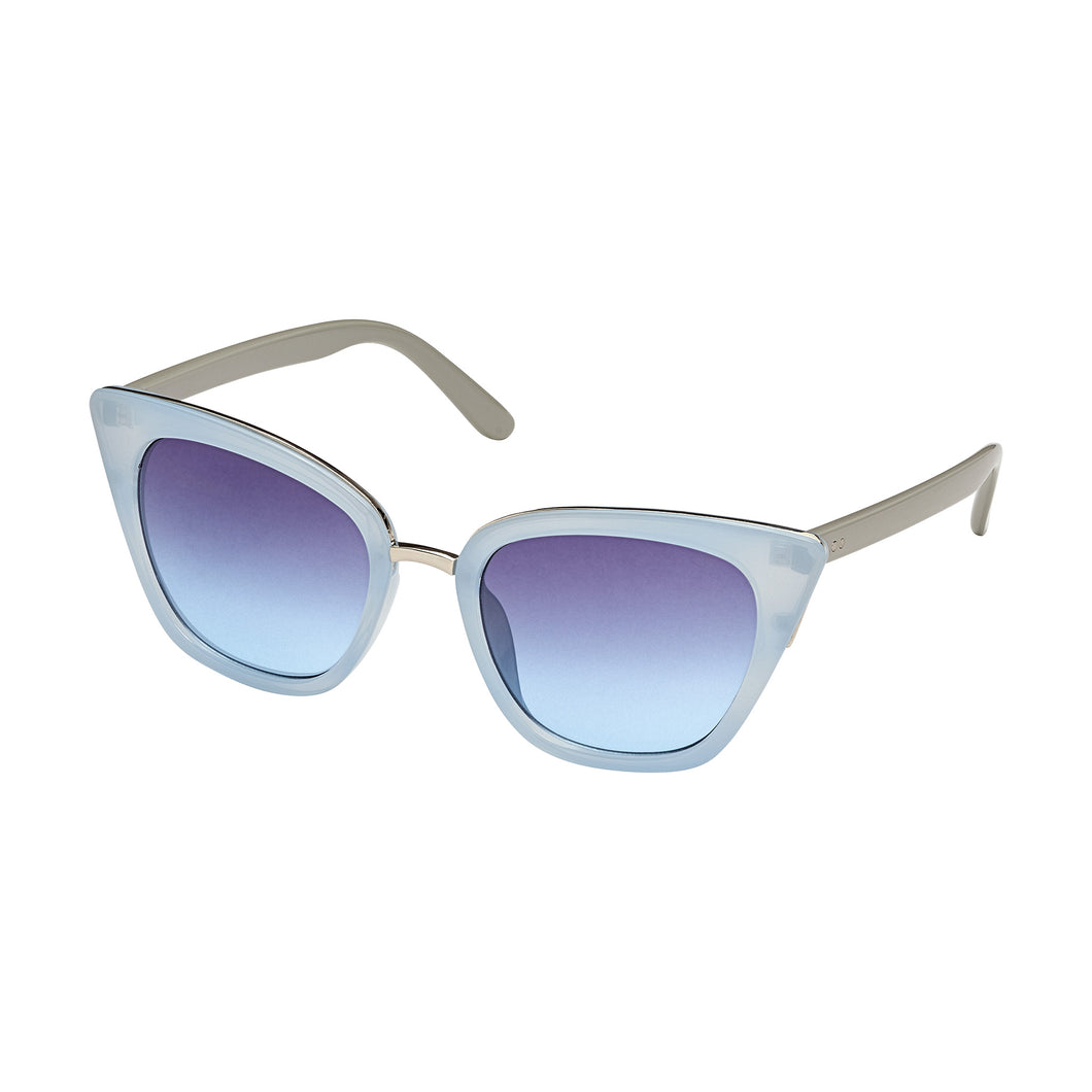 Beyond Cat- Lt Blue/Ivory & Gradient Lens