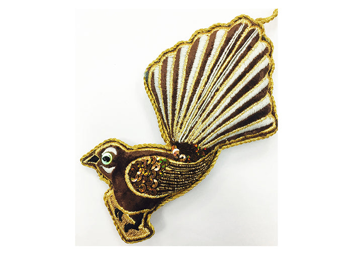 Fantail (wide tail) Decoration