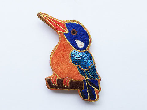 Decoration Azure Kingfisher Sparkle