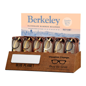 Berkley Reader Amber Tort/ Black