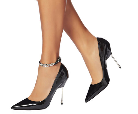 Shoe Chic - Cara Chain in Silver
