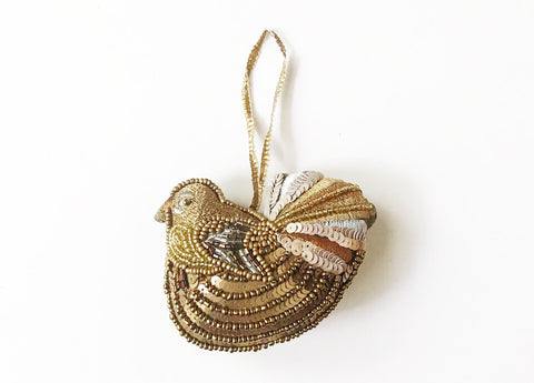 Decoration Fantail Metallic Hanging